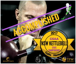 Girevoy Sport Australia Assoc. -  NSW State Championships